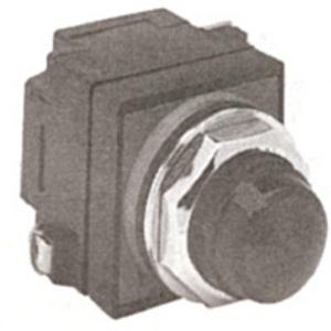 GE CR104PLG82R Indicator Light, Red, LED, 120VAC/DC