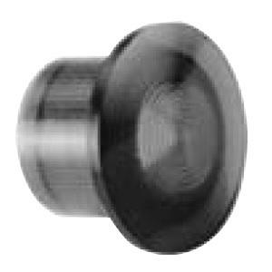 "GE CR104PXL06G Push Button, Illuminated, 1-3/8"", Mushroom Head, Cap Only, Green"