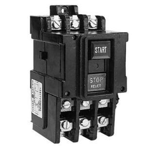 GE CR1062S3AAT1000 Manual Motor Starter, Toggle, 3PH, 600V, NEMA M-1