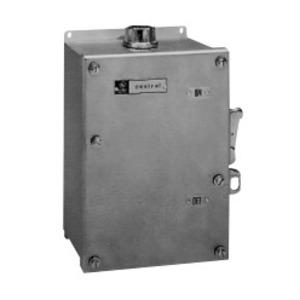 GE CR1062S3AAT4000 Manual Motor Starter, Toggle, 3PH, 600V, NEMA M-0, NEMA 4/4X