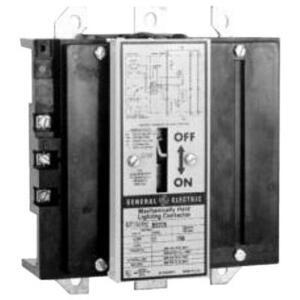 GE CR160MC7102A Lighting Contactor, 200A, 3PH, 120VAC Coil, Open