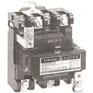 GE CR305E002 Contactor, NEMA Size 3, 100A, 115-120VAC Coil, Open, 3P, 600VAC