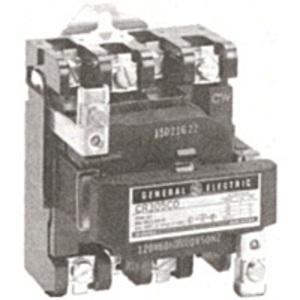 GE CR305J003 Contactor, NEMA Size 0, 20A, 230-240VAC Coil, Open, 2P, 600VAC