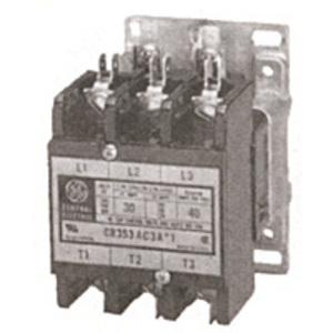 GE CR353AC4AA1 Contactor, Definite Purpose, 30A, 4P, 120VAC Coil