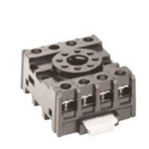 GE CR420KA2 Relay Socket, Plug In , 8-Pin, Type K