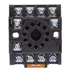 GE CR420KA3 Relay Socket, Plug In , 11-Pin, Type K
