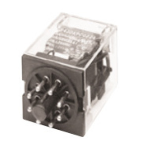 GE CR420KPC0222 Relay, 8-Pin, 2PDT, 120VAC Coil, Type K
