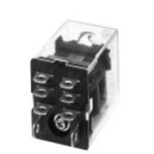 GE CR420NPA0224 Relay, 8-Blade, 2PDT, 24VDC Coil, Type N