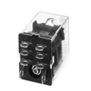 GE CR420NPL0224 Relay, 8-Blade, 2PDT, 24VDC Coil, Type N, LED Option