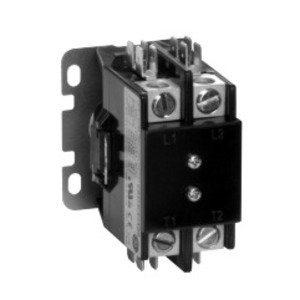 GE CR453CA2AAAC Contactor, Definite Purpose, 20A, 2P, 600VAC, 120VAC Coil, Open