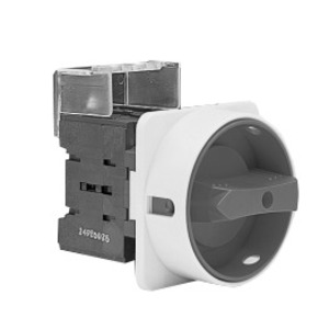 GE D/640006-212 Disconnect Switch, Non-Fused, 25A, 3P, Front Mount, Rotary Handle