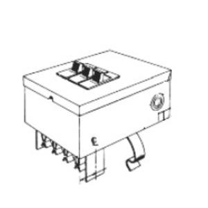 GE DFPTQLR4 Busway, Flex-A-Power, Breaker, Bus Plug, 240VAC, 15-50A, 3PH, TQLR