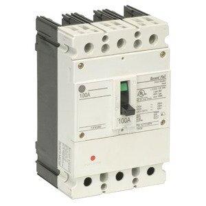 GE FBV36TE030RV Breaker, Molded Case, 30A, 3P, 600Y/347VAC, 22kAIC, Record Plus