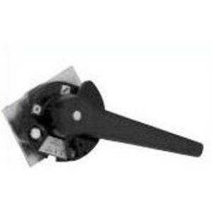GE FD11HA1B Handle, Door Mounted Rotary, Black, NEMA 3R, Pistol Grip