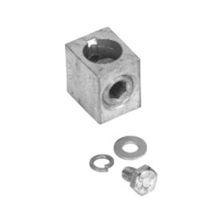 GE FD1LK2 Lug Kit, 200A, 3 Mechanical Connectors, for FD1 Disconnects