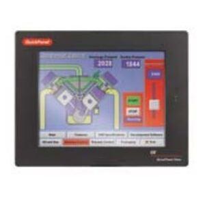 "GE IC754VSI06MTD Operator Interface, 5.7"" Monochrome, Touch Screen, 24VDC, NEMA 4/4X"
