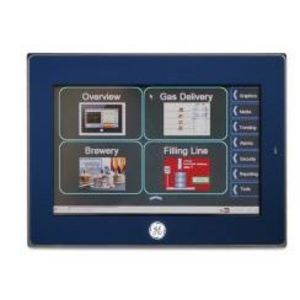 "GE IC755CSW07CDA Operator Interface, QuickPanel+, 7"" Color, TFT, 24VDC, Capacitive"