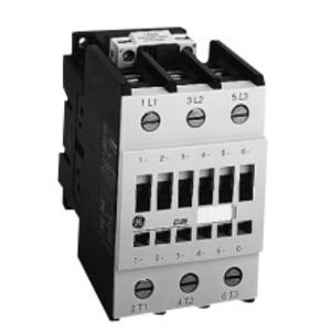 GE LAR06AJ Contactor, Reversing, 3P, 48A, 460VAC, 120VAC Coil, Open, 1NO