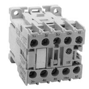 GE MC1A310ATJ Contactor, Mini, 9A, 600VAC, 120VAC Coil, 3P, Screw Terminals