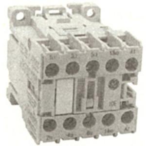 GE MC1C310ATD Contactor, Miniature, 9.0A, 3P, 24VDC Coil, 600VAC Rated, 1NO