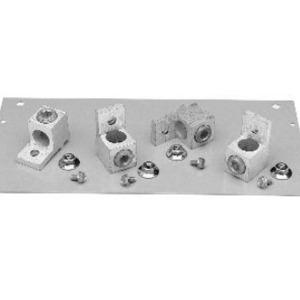 GE NKA4 Panel Board, 400A, 200% Neutral, Pressure Type, for A-Series II