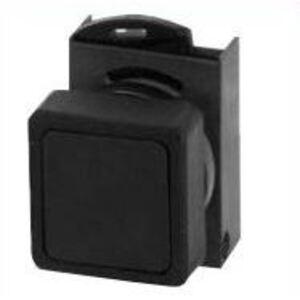 GE P9ASGPDI Push Button, Lens, 22.5mm, Diffuse, Clear, Square