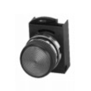 GE P9CLVD Indicator Light, Diffused Green Lens, Operator Only