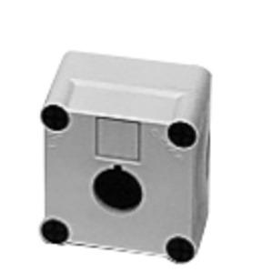 GE P9EPEG1 Pilot Device, Enclosure, 1 Hole, Polycarbonate, Gray, NEMA 1 - 13