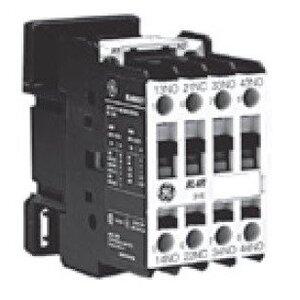 GE RL4RA040TJ Relay, Control, 4P, 120VAC, Coil, 4NO, Standard Terminals