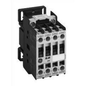 GE RL4RD022RK Relay, IEC Control, DC Operated, 125VDC Coil, 2NO/2NC Contacts