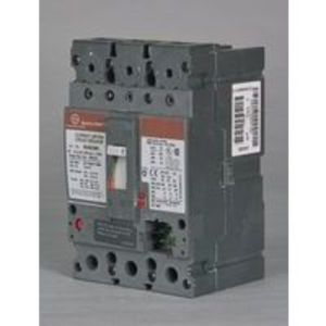 GE SEHA24AT0030 Breaker, Molded Case, SEH Frame, 30A Current Sensor, 2P, 480VAC