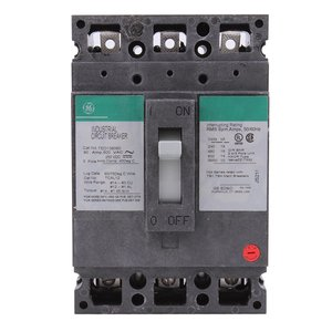 GE TED136060 3P-600V-60A CB