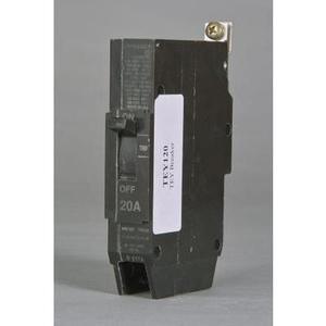 GE TEY125 Breaker, Bolt On, 25A, 277VAC, 1P, Molded Case, 14kAIC