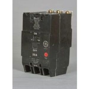 GE TEY325 Breaker, Bolt On, 25A, 480/277VAC, 3P, Molded Case, 14kAIC