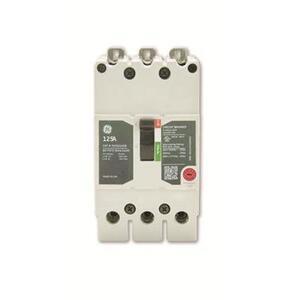 GE TEYL3040B Breaker, Molded Case, 40A, 3P, 277/480VAC, 65kAIC, Load Lugs
