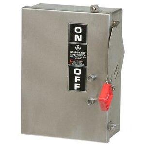 GE TH3224SS Disconnect Switch, 200A, 240VAC, 250VDC, 2P, Fusible, NEMA 4X