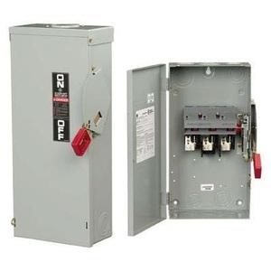 GE TH3325R Disconnect Switch, Fusible, 400A, 240VAC, 250VDC, 3P, NEMA 3R