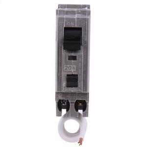 GE THHQL1120AF2 Breaker, 20A, 1P, 120/240V, 22 kAIC, , AFCI