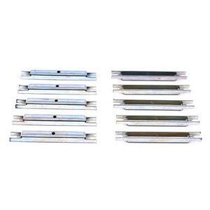 GE TQ4HTK Breaker, Handle Tie Kit, 4 x 1P, Type TQB, C, L, 10 Piece