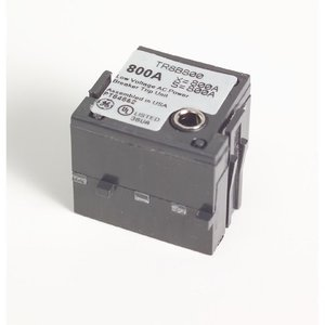 GE TR8B400 Breaker, Molded Case, 400A, Rating Plug, MicroVersaTrip, 800A Frame