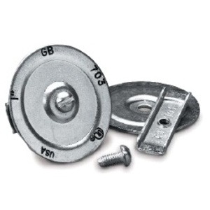 """Gardner Bender KO703 Three-Piece Knockout Seal, 1"""", Steel"""
