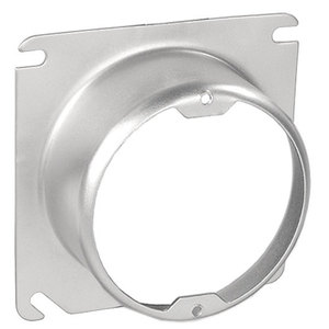 "Garvin Industries 52C3-1-1/2 4"" Square Cover, 1-1/2"" Raised, 1-Device"