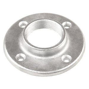 "Garvin Industries FF75 Floor Flange, 3/4"", Steel/Electro-Galvanized"