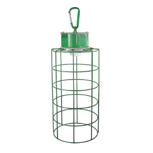 Garvin Industries TLF Temporary Job Site Light Fixture, Medium Base, 120V, Green