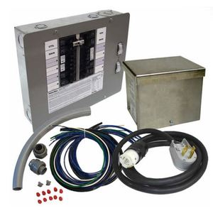 Generac 6296 50A, 125/250V, Manual Transfer Switch Kit 12-16 Circuits