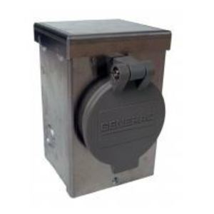 Generac 6346 Power Inlet, 30A, L14-30 Twist-Lock Receptacle, 125/250VAC, NEMA 3R