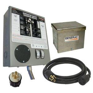 Generac 6408 Manual Transfer Switch Kit 6-10 Circuits