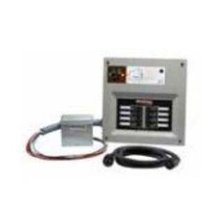 Generac 6854 Manual Transfer Switch, 30A, 10 Space, Outdoor Inlet, Breaker Incl.