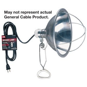 General Cable 04127.60.01 8' Clamp Lamp