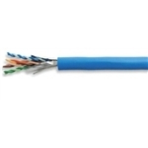 General Cable 7133840 Data Cable, CAT 6 Plus, Riser, 23 AWG, 4-Pair, Blue, 1000'